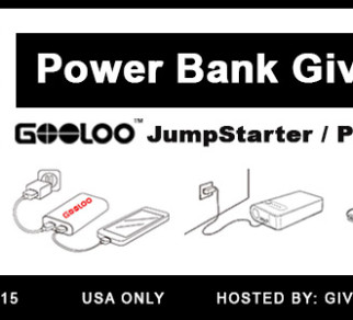 Power Bank Car Jump Starter Giveaway