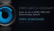 Ziiiro Watch International Giveaway