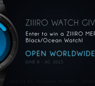 Ziiiro Watch International Giveaway