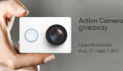 Sports Action Camera Worldwide Giveaway