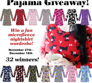 Women's Microfleece Nightshirt Wardrobe Giveaway