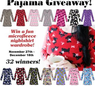 Women's Microfleece Nightshirt Wardrobe Giveaway