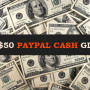 $50 Paypal Cash Worldwide Giveaway