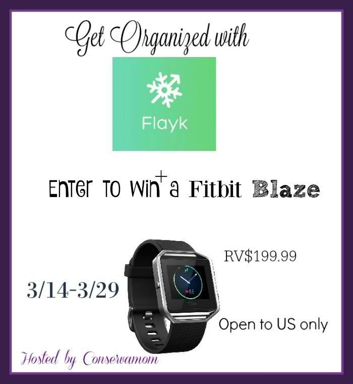 free fit blaze smartwatch giveaway