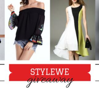 StyleWe Fashion Dress Blog Giveaway