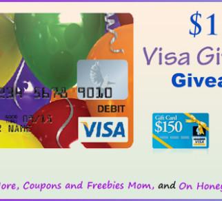 $150 Visa Gift Card Worldwide Giveaway