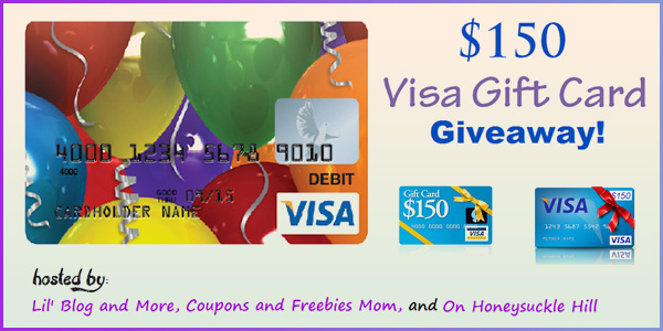 $150 Visa Gift Card Worldwide Giveaway