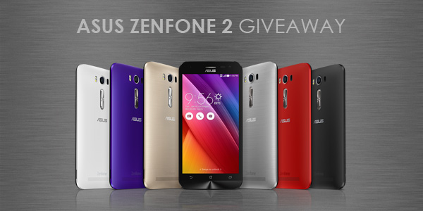 Free Asus ZenFone 2 Worldwide Sweepstakes