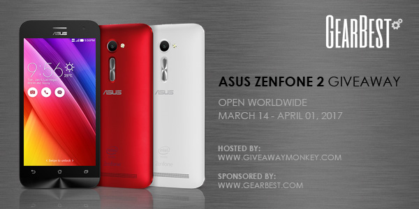 Asus ZenFone 2 International Giveaway. Ends 4/1