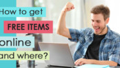 How to get free items online and where?