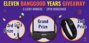 Banggood Anniversary - Banner Main - Worldwide Giveaway