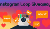 Instagram Loop Giveaway - Social Media Marketing Strategy