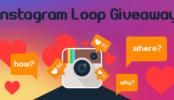 Instagram Loop Giveaway - Social Media Marketing Strategy