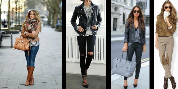 Fashion Leather Jacket Styles - Pants
