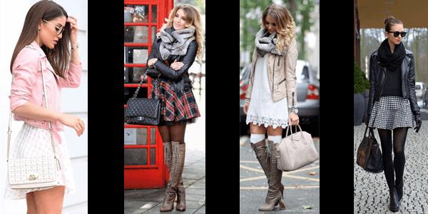 Fashion Leather Jacket Styles - Skirts