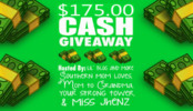 $175.00 Cash Giveaway Event