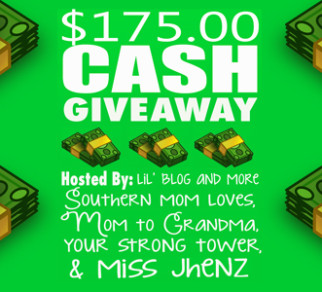 $175.00 Cash Giveaway Event