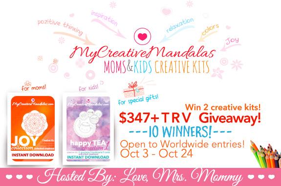 Creative Coloring Mandalas Giveaway - Giveaway Monkey