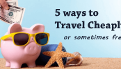 Tips How to Travel Cheap or Free