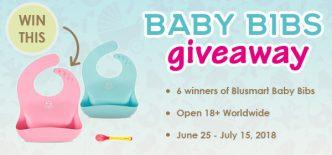 Blusmart Baby Bib Worldwide Giveaway