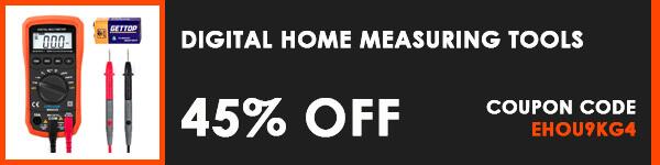 Blusmart Amazon Discount Deals - Auto-Ranging Digital Multimeter Home Measuring Tools
