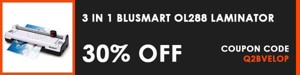 Blusmart Amazon Discount Deals - Laminator Laminating Machine Set