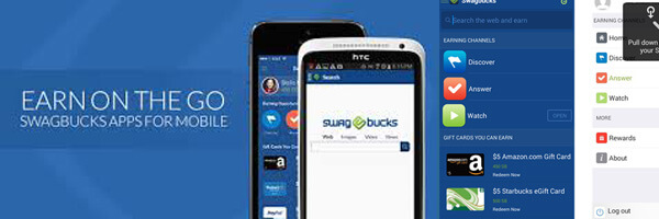 Earn Easy Money Using Smartphone with Swagbucks App