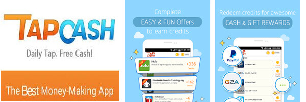 Earn Easy Money Using Smartphone with Tap Cash Reward App