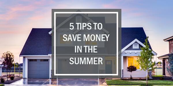 Save Money on Summer