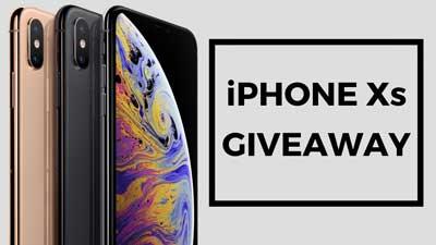 Apple iPhone XS Giveaway - Giveaway Monkey