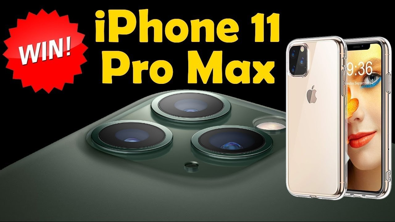Win A Free Iphone 11 Pro Max Giveaway