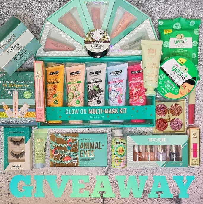 Makeup, Skincare, beauty products Giveaway