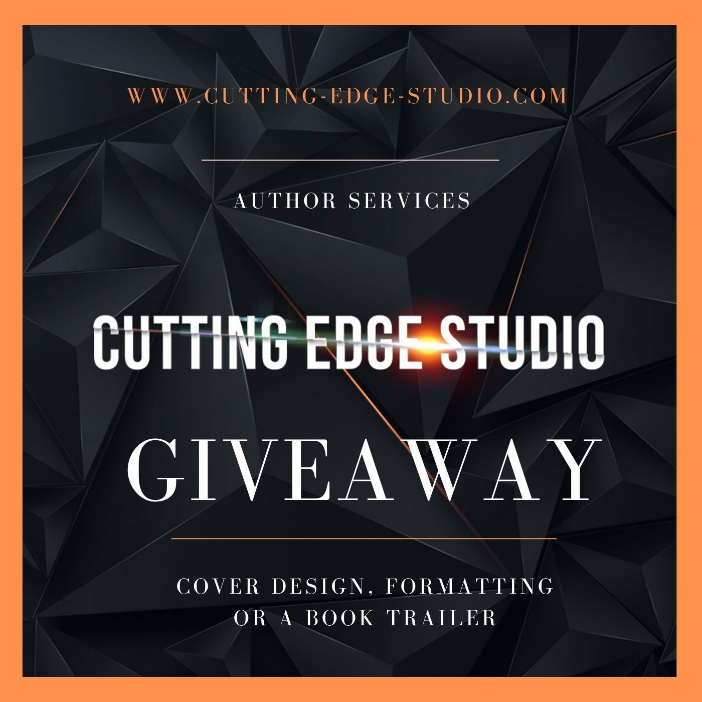Author services (worth max $229) Giveaway