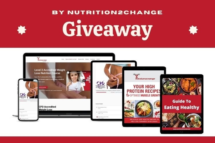 Bets selling guide to healthy eating, 21 high protein recipes e-book and 12-month access to level 3 accredited weight management and nutrition course Giveaway