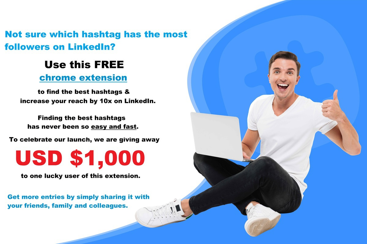 USD $1,000 Giveaway