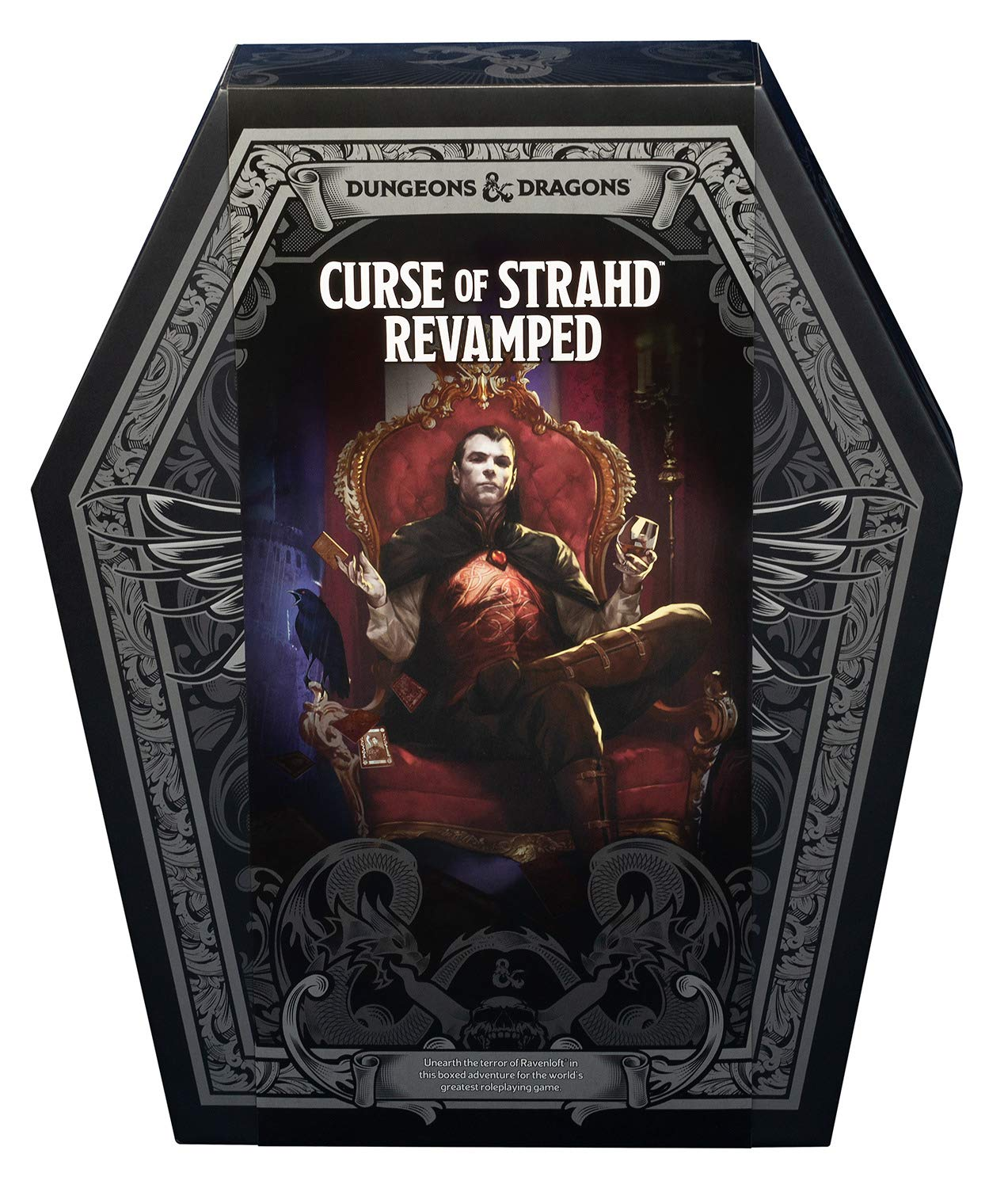 Curse of Strahd Revamped - D&D Adventure Coffin Giveaway