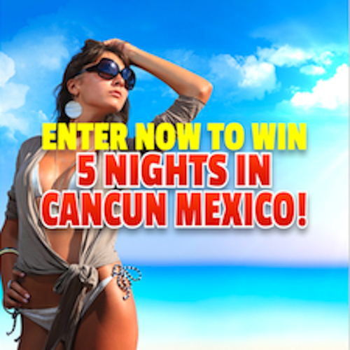 5-NIGHT CANCUN VACATION Giveaway