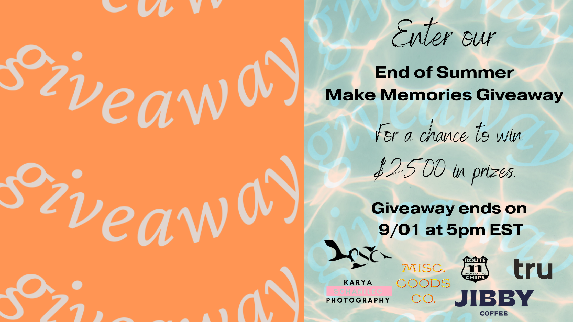 Labor Day Weekend Prize Pack Giveaway