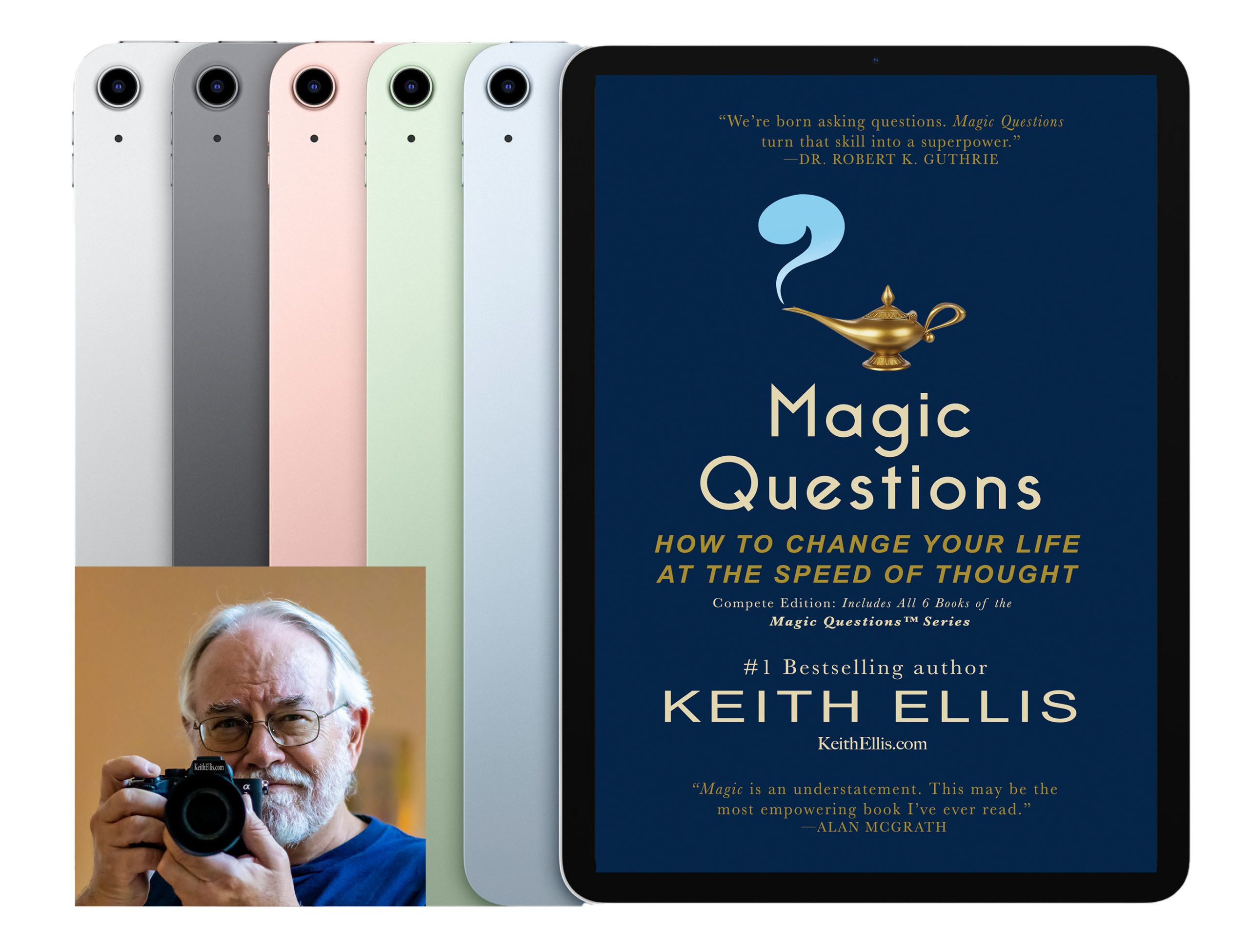 The latest iPad Air preloaded with best-selling books from #1 best-selling author Keith Ellis Giveaway